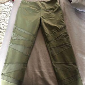 VS Sport Olive leggings